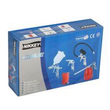 Набор пневмоинструмента (5 предметов) Nikkey