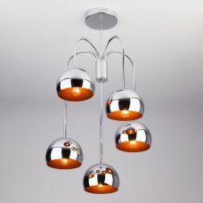 Подвесной светильник в стиле Лофт Eurosvet 70067/5 хром