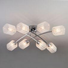 Потолочный светильник Eurosvet 30125/8 хром