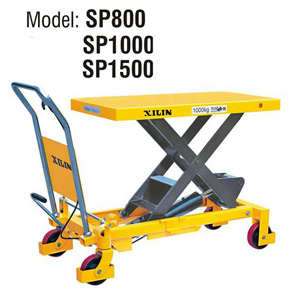 Стол подъемный передвижной XILIN г/п 1000 кг 380-1000 мм SP1000