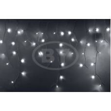 "Светодиодная бахрома ""Айсикл белый"" Neon-night 2.4*0.6 м белый мерцание"