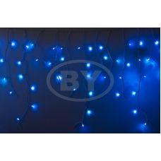 "Светодиодная бахрома ""Айсикл белый"" Neon-night 2.4*0.6 м синий мерцание"