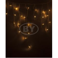 "Светодиодная бахрома ""Айсикл белый"" Neon-night 2.4*0.6 м тепло-белый 76 LED"
