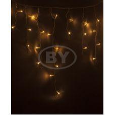 "Светодиодная бахрома ""Айсикл белый"" Neon-night 4.8*0.6 м тепло-белый 152 LED"