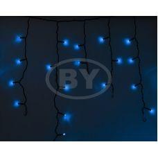 "Светодиодная бахрома ""Айсикл чёрный""  Neon-night 2.4*0.6 м синий"