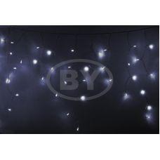 "Светодиодная бахрома ""Айсикл прозрачный"" Neon-night 4.8*0.6 м белый"