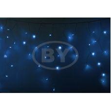 "Светодиодная бахрома ""Айсикл прозрачный"" Neon-night 4.8*0.6 м синий"