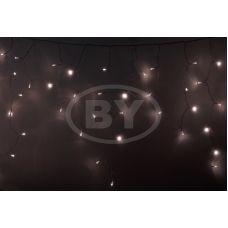 "Светодиодная бахрома ""Айсикл прозрачный"" Neon-night 4.8*0.6 м тепло-белый"