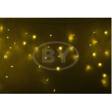 "Светодиодная бахрома ""Айсикл прозрачный"" Neon-night 4.8*0.6 м желтый"