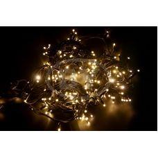 Светодиодная гирлянда Neon-night «Дюраплей LED» теплый белый мерцающий 20 м