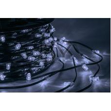 """Светодиодная гирлянда Neon-night """"Клип лайт"""" белый мерцание, между диодами 15 см /1М"""
