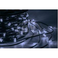 """Светодиодная гирлянда Neon-night """"Клип лайт"""" белый, между диодами 15 см /1М"""