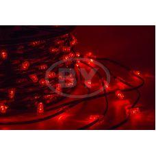 """Светодиодная гирлянда Neon-night """"Клип лайт"""" красный, между диодами 15 см /1М"""
