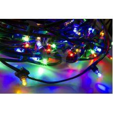 """Светодиодная гирлянда Neon-night """"Клип лайт"""" мультиколор, между диодами 15 см /1М"""