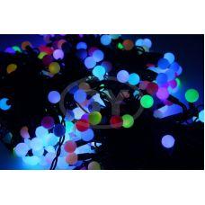 "Светодиодная гирлянда Neon-night ""Клип лайт шарики"" RGB 3 нити по 20 м"