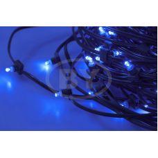 """Светодиодная гирлянда Neon-night """"Клип лайт"""" синий, между диодами 30 см /1М"""