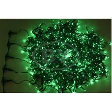 """Светодиодная гирлянда Neon-night """"Клип лайт"""" зелёный 5 нитей по 20 м"""