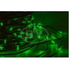 """Светодиодная гирлянда Neon-night """"Клип лайт"""" зелёный, между диодами 15 см /1М"""