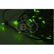 """Светодиодная гирлянда Neon-night """"Клип лайт"""" зелёный, между диодами 30 см /1М"""