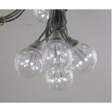 "Светодиодная гирлянда Neon-night ""LED Galaxy Bulb String"" белый, белый каучук"