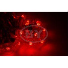 """Светодиодная гирлянда Neon-night """"LED Galaxy Bulb String"""" красный, белый каучук"""