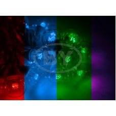 "Светодиодная гирлянда Neon-night ""LED Galaxy Bulb String"" мультиколор, белый каучук"
