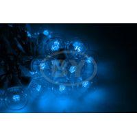 """Светодиодная гирлянда Neon-night """"LED Galaxy Bulb String"""" синий, черный каучук"""