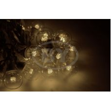 "Светодиодная гирлянда Neon-night ""LED Galaxy Bulb String"" теплый белый, черный каучук"