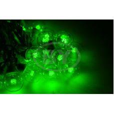 """Светодиодная гирлянда Neon-night """"LED Galaxy Bulb String"""" зелёный, черный каучук"""