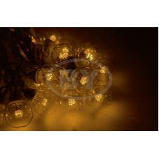 "Светодиодная гирлянда Neon-night ""LED Galaxy Bulb String"" желтый, белый каучук"