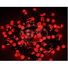 """Светодиодная гирлянда Neon-night """"LED шарики"""" красный 20 м Ø 17.5 мм 24 B"""