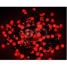 """Светодиодная гирлянда Neon-night """"LED шарики"""" красный 20 м Ø 17.5 мм"""