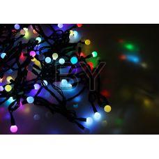 """Светодиодная гирлянда Neon-night """"LED шарики"""" RGB 10 м Ø 17.5, 23, 45 мм"""