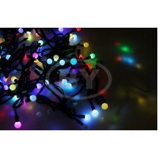 """Светодиодная гирлянда Neon-night """"LED шарики"""" RGB 10 м Ø 17.5 мм"""