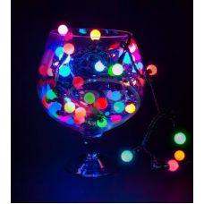 """Светодиодная гирлянда Neon-night """"LED шарики"""" RGB 20 м Ø 17.5 мм"""