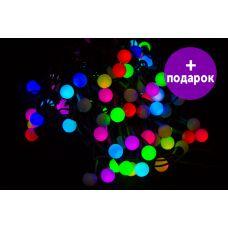 """Светодиодная гирлянда Winner Light """"LED шарики"""" RGB 5 м Ø 18 мм"""