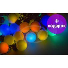 """Светодиодная гирлянда Neon-night """"LED шарики"""" RGB 5 м Ø 25 мм"""