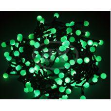 """Светодиодная гирлянда Neon-night """"LED шарики"""" зелёный 20 м Ø 17.5 мм"""