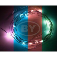 Светодиодная гирлянда Neon-night «Роса» RGB 2 м