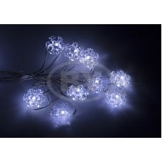 Светодиодная гирлянда Neon-night «Снежинки» белый  2 м