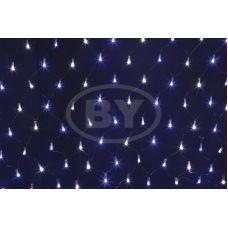 Светодиодная сетка Neon-night 2*0.7 м белый/синий