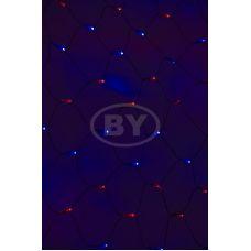 Светодиодная сетка Neon-night 2*1.5 м красный/синий