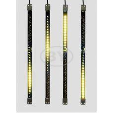 Светодиодная сосулька Neon-night желтый 50 см