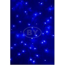 Светодиодная занавес 1.5*1.5 м синий