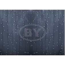 Светодиодная занавес Neon-night 2*1.5 м белый, прозрачный ПВХ