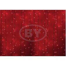 Светодиодная занавес Neon-night 2*1.5 м красный, белый ПВХ