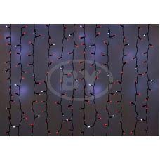Светодиодная занавес Neon-night 2*1.5 м мерцание красный