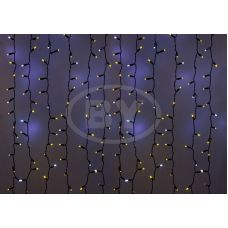 Светодиодная занавес Neon-night 2*1.5 м мерцание желтый