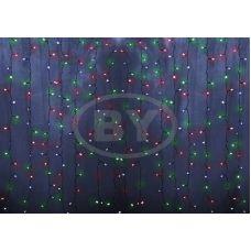 Светодиодная занавес Neon-night 2*1.5 м мультиколор 192 LED