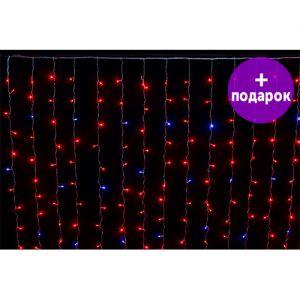 Светодиодная занавес Winner Light 2*3 м красный 320 LED